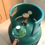 Propane cylinder