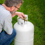 Why is my propane tank hissing?